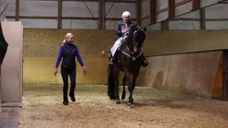 Horse Helps Fulfill a Woman's Wish