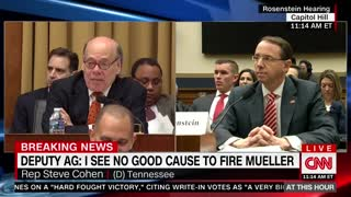 Congressman Says 'Everyone Respects' Mueller During Committee Hearing, Then Louie Gohmert Chimes In - Video
