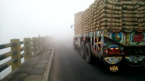 too much smog vehicles are disappears after 100 miter