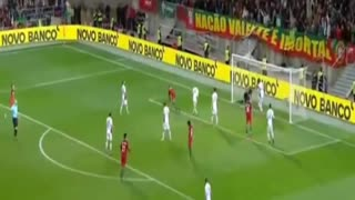 Cristiano Ronaldo Amazing Acrobatic goal vs Latvia - Video