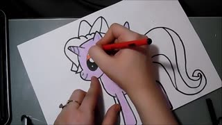Speed Drawing: My Little Pony - Video