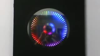 Infinity Mirror Clock - Video