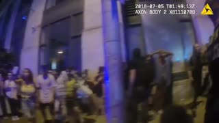 Violent Liberal Protesters In Atlanta