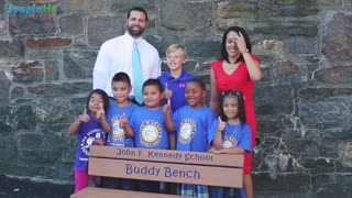 Buddy Bench Fosters Friendship At Schools - Video