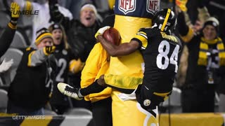 Antonio Brown Says He Couldn't Stop Getting Boners Training for 'Dancing with the Stars' - Video