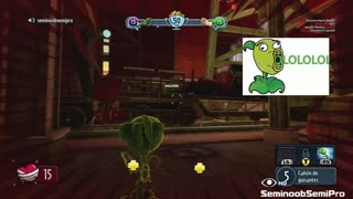 Plants vs Zombies Garden Warfare Funny -Train runs over engineer - Video