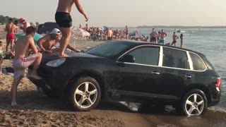Porsche Waterslide - Video