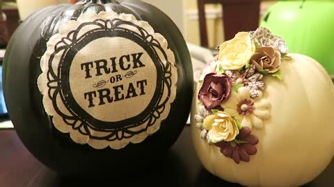 "Halloween how to: Create ""Fall"" pumpkin decor"