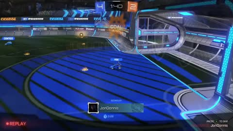Rocket League Season 2 - Xbox One - 3 goals in quick succession.