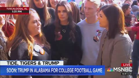 Alabama College Student Says 'Jeffrey Epstein Didn't Kill Himself' Live On The Air On MSNBC