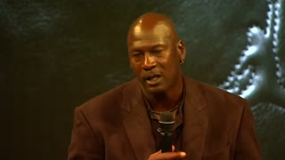 Basketball star Michael Jordan launches 30th anniversary shoe - Video