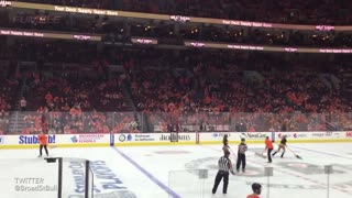 Philadelphia Flyers Fans Yell Obscenities During Moment of Silence for Ed Snider - Video