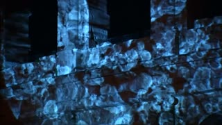 Bacteria light up Rome's Colosseum - Video