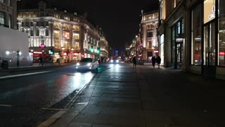 Night Street Records Of buses and cars passing