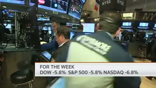 Dow sinks more than 500 points - Video