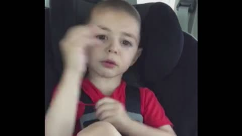 Boy Makes Sweet Complaint To Mom That He Can't Read And He Has No Toys