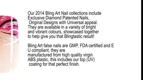 Original Pink Glitter Wave Collection by Bling Art