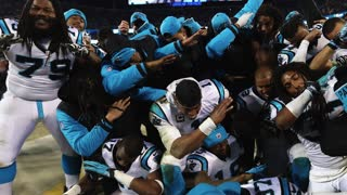 Cam Newton Dabbin' In the Club After NFC Championship - Video