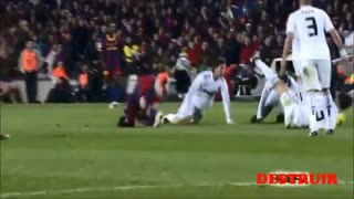 Leo Messi humiliates Sergio Ramos - Video
