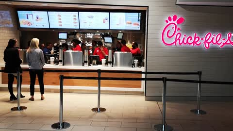A Look Inside Yorkdale's New Chik-Fil-A
