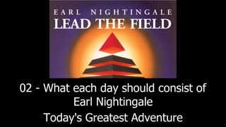 What Each Day Should Consist Of - Earl Nightingale - Video