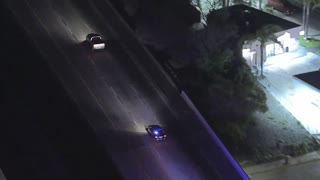 Car Chase Suspect Flees Moving Truck