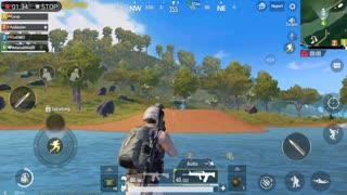 Pubg Mobile Game Sanhock Map Moving Around Paradise Temple killing Enemies