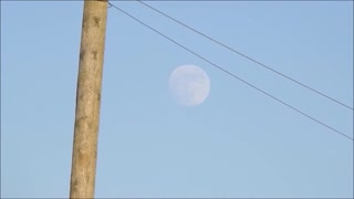 1.5 Hrs of Moon Rising in Just 4 Minutes!  - Video