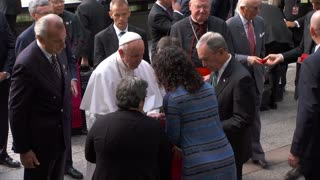 Pope brings message of peace to Ground Zero
