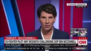McConnell challenger Amy McGrath flubs interview with CNN's Jake Tapper