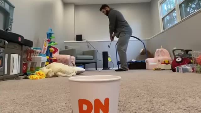 Epic indoor tricks shots direct result of being quarantined