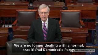 Mitch McConnell Slams Democrats On Abortion
