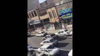 Tehran's fruits vendors battle with the mayor continues - Video