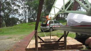 Designed to fail beam load test A