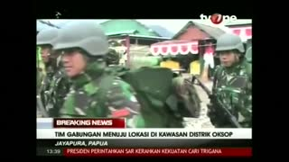 Indonesia spots plane debris in Papua - Video