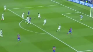 Leo Messi second goal vs Celtic 2-0