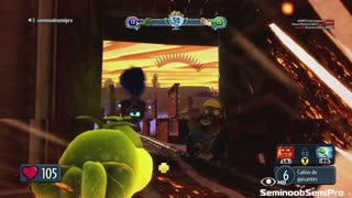 Plants vs Zombies Garden Warfare Funny Train runs over engineer - Video
