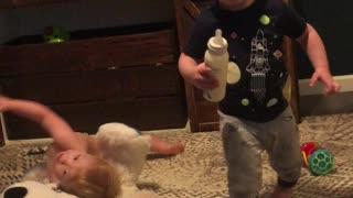 Twin Snags Sibling's Bottle