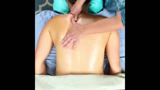 Basic Swedish Back Massage Techniques - Video