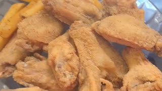 Home Fried Chicken Wings