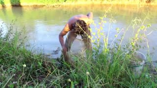 wow Amazing Fishing - Cambodia Traditional fishing - How to Catches Fish (Part 129)