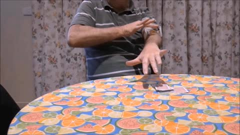Sawing Through The Arm With A Playing Card
