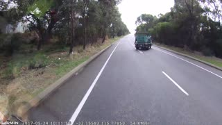 Bin Carrier Road Rage - Video