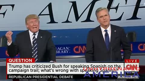 Democrats use Spanish at the Primaries