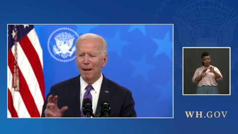 Biden Claims There Isn't a Single Thing Men Can Do Better Than A Woman