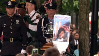 Somber ceremony at Ground Zero marks 9/11 attacks - Video