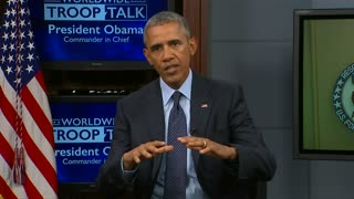Obama: Russia's involvement in Syria indicates Assad is worried - Video