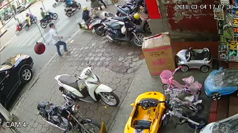 Moped Collision
