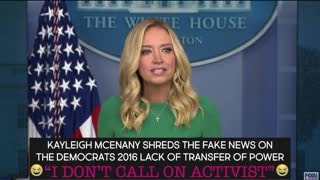 """I don't call on activist"" Kayleigh McEnany"