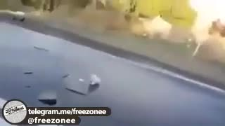 Police chase Hollywood style - Iran